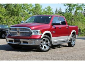 2014 Ram 1500 Laramie*DIESEL*SUNROOF*BUCKETS*LINER*ULTRA CLEAN