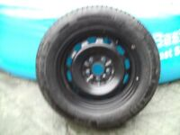 195/65/14 michelin energy tyre and steel rim