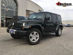 2011 Jeep Wrangler ONE OWNER/GREAT FOR THE WINTER/4X4