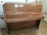 Knight upright overstrung piano 1961