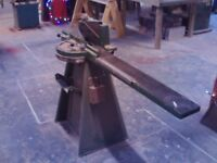 Morso Miter Guillotine workshop woodworking tool manual chopsaw.