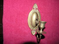 Vintage Brass Candle Holder From A Piano Weymouth Free local delivery