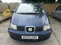 very cheap seat alhambra, only £995.!!!