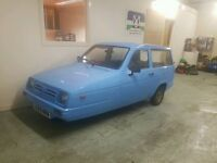Reliant rialto estate. Running and driving