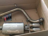 Cobra performance cat back non resonated exhaust for Volkswagen polo gti 1.8tsi 192bhp 2016