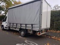 Delivery driver (Courier) available - with huge Van (3.5 tonnes Curtainsider van)