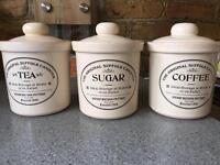 Henry Watson storage jars