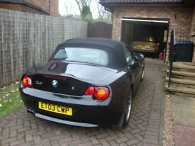BMW Z4 Rare 3.0 litre engine with 6 speed manual gearbox
