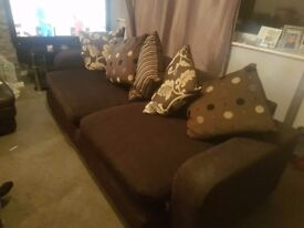 Large 4 seater sofa