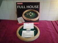 "Waddingtons ""FULL HOUSE"" Boxed Game-Very Good Condition-Made in 2004-Ideal for Christmas-RARE GAME !"