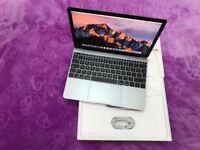 MacBook 12inch Retina Display Space Grey 256GB SSD 8GB Memory apple warranty Intel HD Graphics 615