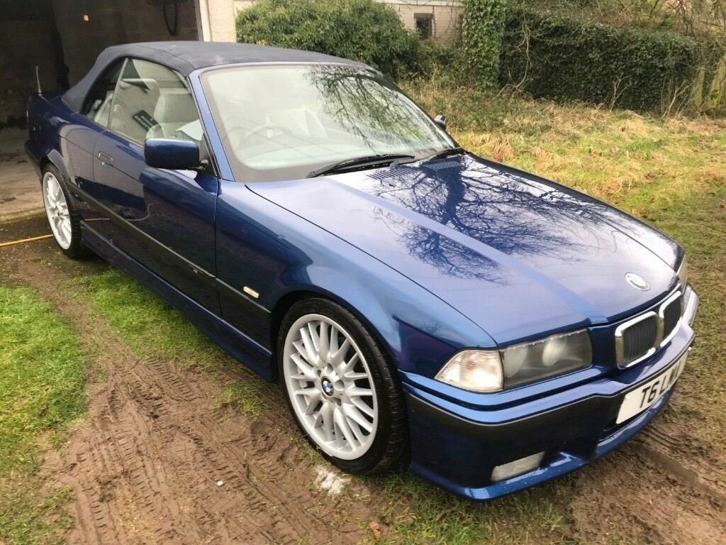 bmw 3 series convertible e36 1999 t 323i m sport auto in honiton devon gumtree. Black Bedroom Furniture Sets. Home Design Ideas