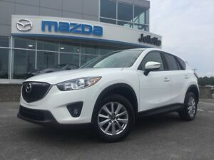2015 Mazda CX-5 GS 4RM, Toit ouvrant, Blanc perle