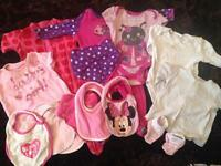 Baby girl clothes *all from smoke free home £8 for all. see other picsfor rest of bundle