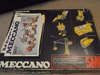 Various Meccano Parts/Pieces , box and instruction booklets