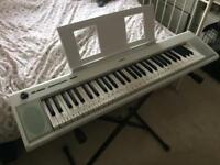Yamaha Piaggero NP12 Keyboard White