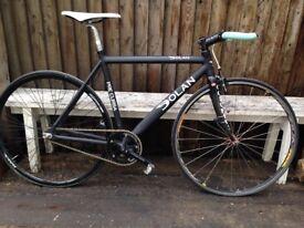 DOLAN Pre Cursa Fixie/Fixed gear track bike black excellent condition 56cm