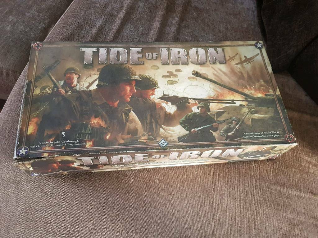 Tide of iron ww2 board game | in Brough, East Yorkshire | Gumtree