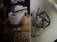 Kenwood Mixer Bowl and Tools
