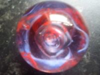 """Caithness """"Moon crystal"""" paperweight"""