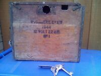 WW2 battery box