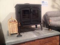log burners keep warm for winter