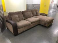 DFS L shape sofa bed with storage, Free delivery