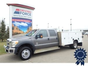2014 Ford Super Duty F-550 DRW, Limited Slip w/4.88 Axle Ratio