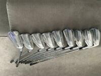 Taylor made p790 irons 3-approach wedge, as new