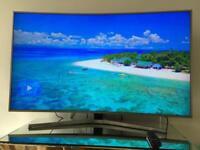 SAMSUNG 4K Ultra HD Smart Curve TV UE55MU6670