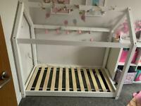 Toddler size house bed