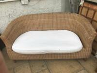 3 Piece Wicker Conservatory Furniture