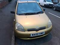 Toyota, YARIS, Hatchback, 2002, Manual, 1364 (cc), 5 doors