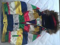 Ski jacket Child 9-10 yrs Boden In Stripe