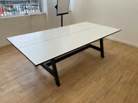 Boardroom table + 10-11chairs £400