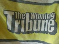WINNIPEG TRIBUNE CARRIER BAG