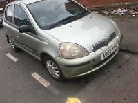 Toyota Yaris 2002 diesel cheap £1050ono