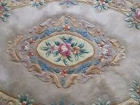 Oval Chinese Rug