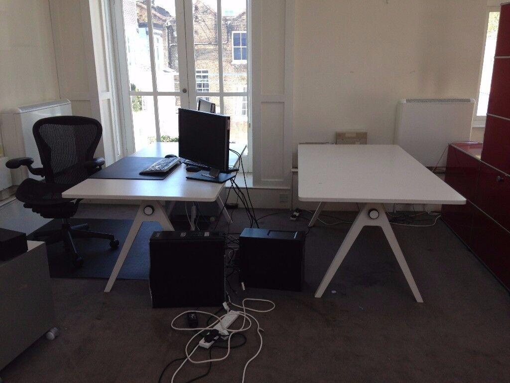 1 Vitra Joyn Single Desk By Ronan Erwan Bouroullec Table More Available
