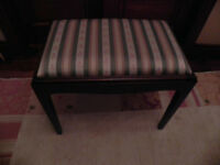Stag minstrel mahogany dressing table stool