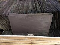 RECLAIMED 'GRADE A' 20X12 PURPLE WELSH SLATE.