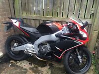 RS Aprilla 125 on road 2012 plate or SWAP