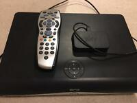 Sky+HD box with Remote and wireless Connector Mini