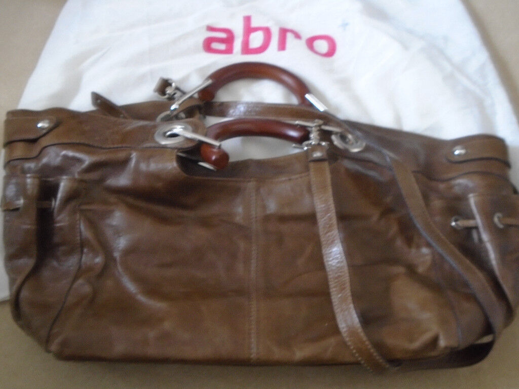 85ed4a95b5 Abro Leather Bag Brand new never used