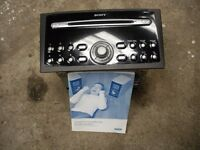 FORD, SONY DOUBLE DIN 6 DISC MULTI CHANGE STEREO, FROM MONDEO GHIA FACELIFT MODEL