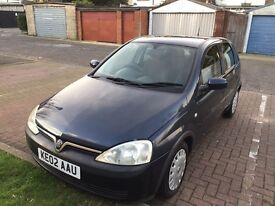 2002 Vauxhall Corsa 1.2i 16v Comfort5dr Full Service History HPI Clear @ 07445775115 @ 07725982426@