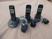 Panasonic cordless phones X3