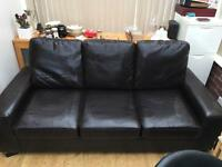 SOLD !!!!!FREE three seater sofa bed