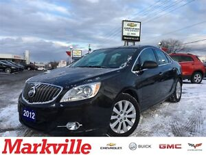 2012 Buick Verano 0.9% FINANCE- LEATHER-NAVIGATION-MOON ROOF