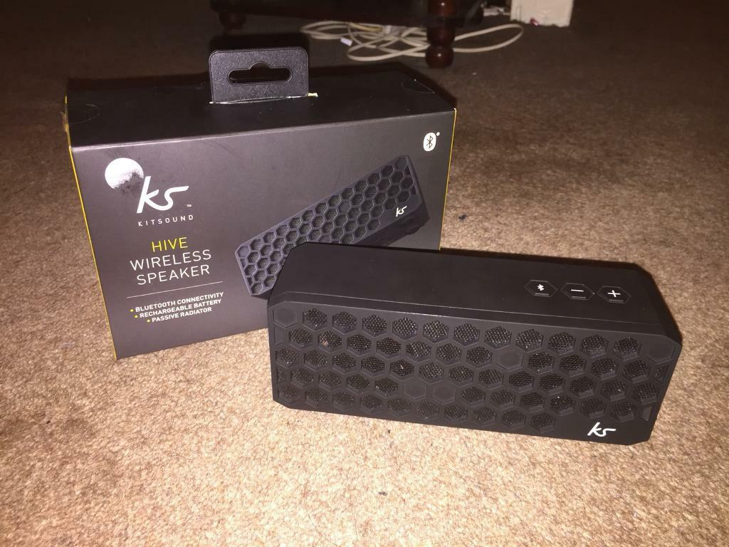 Great condition, Working Kitsound Hive bluetooth speaker